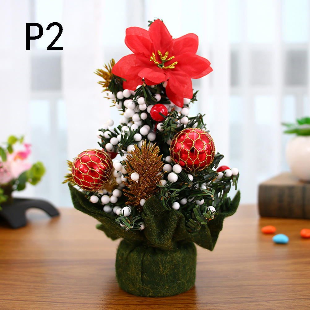 20cm Mini Christmas Tree Decor Desk Table Small Party Ornaments Xmas Gift At A Low Prices On Joom E Commerce Platform