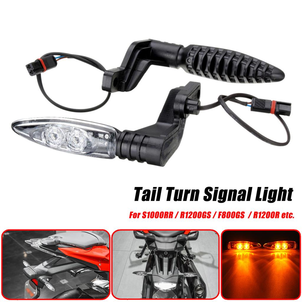 BessieSparks 2x Motorcycle Turn Signal Indicator Front Light Blinker for BMVV S1000RR R1200GS F800//F650//F700GS