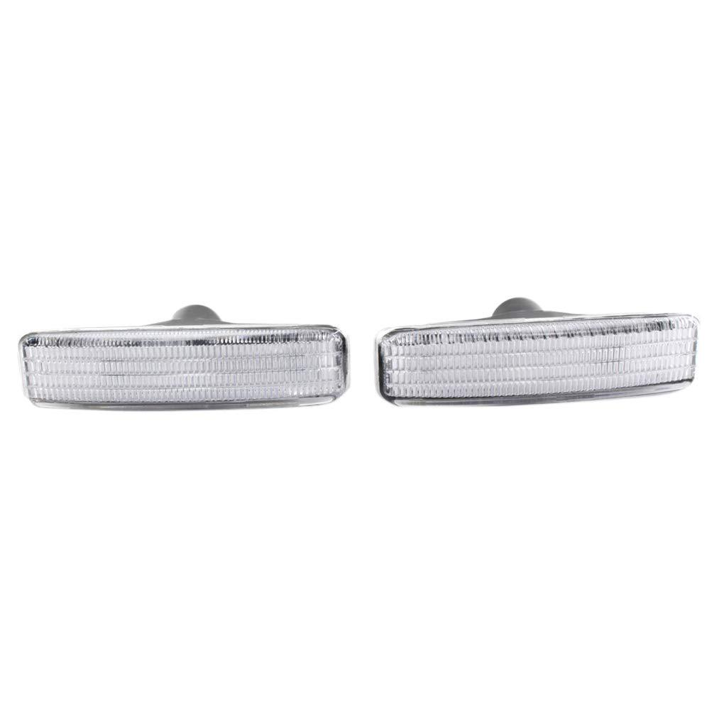 BMW E39 Turn Signal Light Fender Side Marker Lamp Amber Lens 63148360589