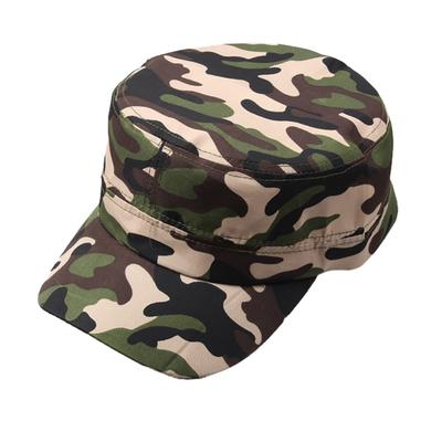 3d0a749ed8876 Adjustable Outdoor Vintage Army Military Camo Tactical Plain Cadet Style Cap  Hat