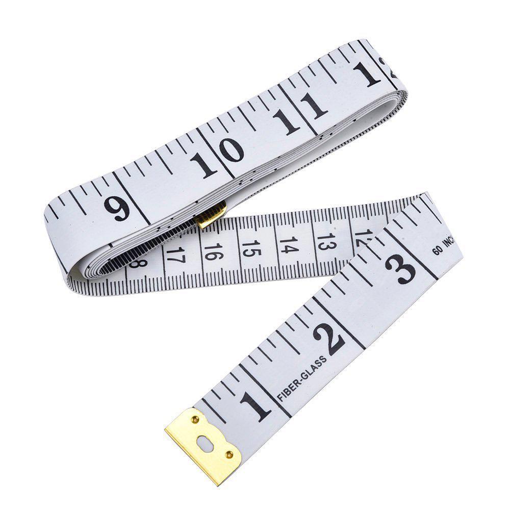"""3 m 120/"""" Tailleur Couturière Chiffon corps Règle Ruban à mesurer à coudre outil souple"""
