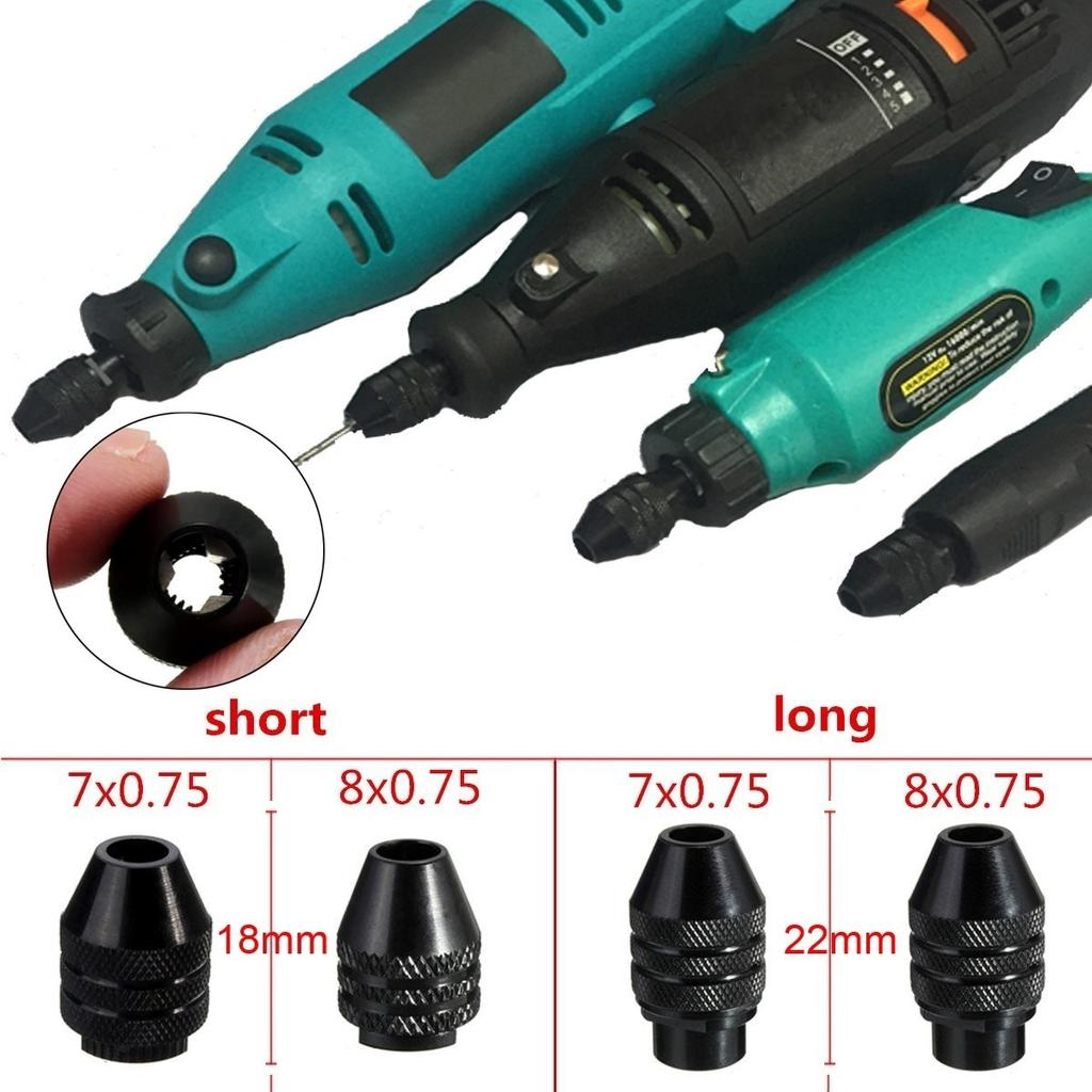 Rotary Grinder Tool Flexible Flex Shaft Fit For Electric Drill Chuck 0.3mm-3.2mm
