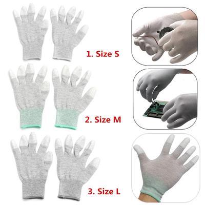 2Pairs Anti-static Antiskid Gloves Computer Phone Repair Working Garden Tool JH