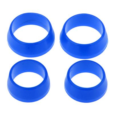 10x kit de sellado de goma O-ring para instalación de faros de luz de bicicleta、