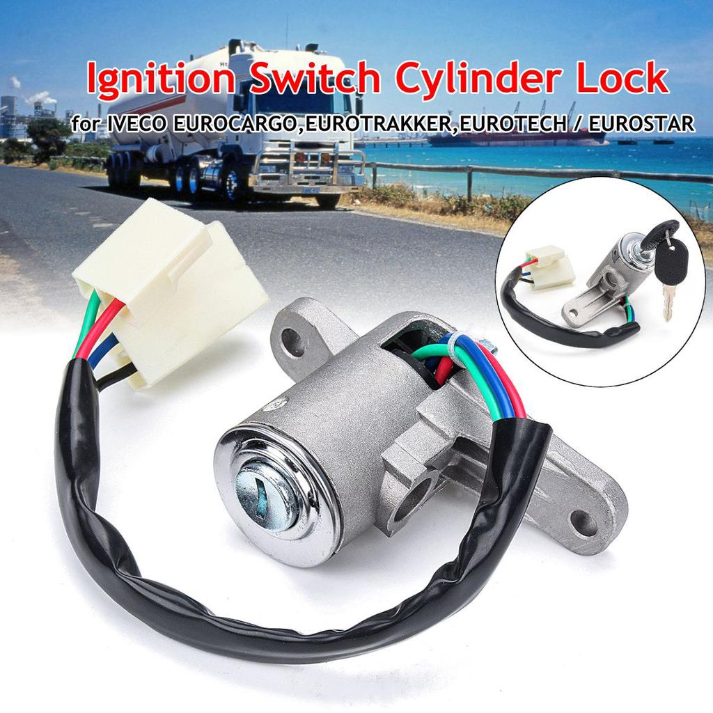 /Ignition Key Switch,6 Wire Remote Starter Switch with 2 Keys for 2.5-6.5KW 188F Gas Generator