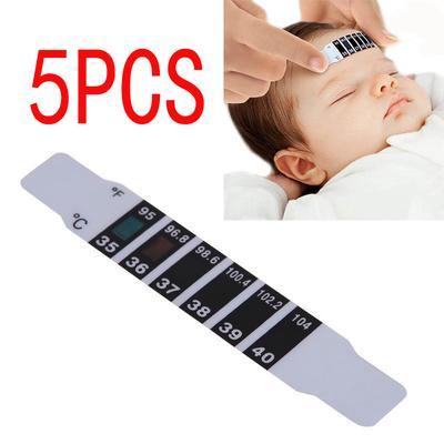 Kopf Thermometer Streifen Band Fieber Baby Kinder Erwachsene Temperatur Test