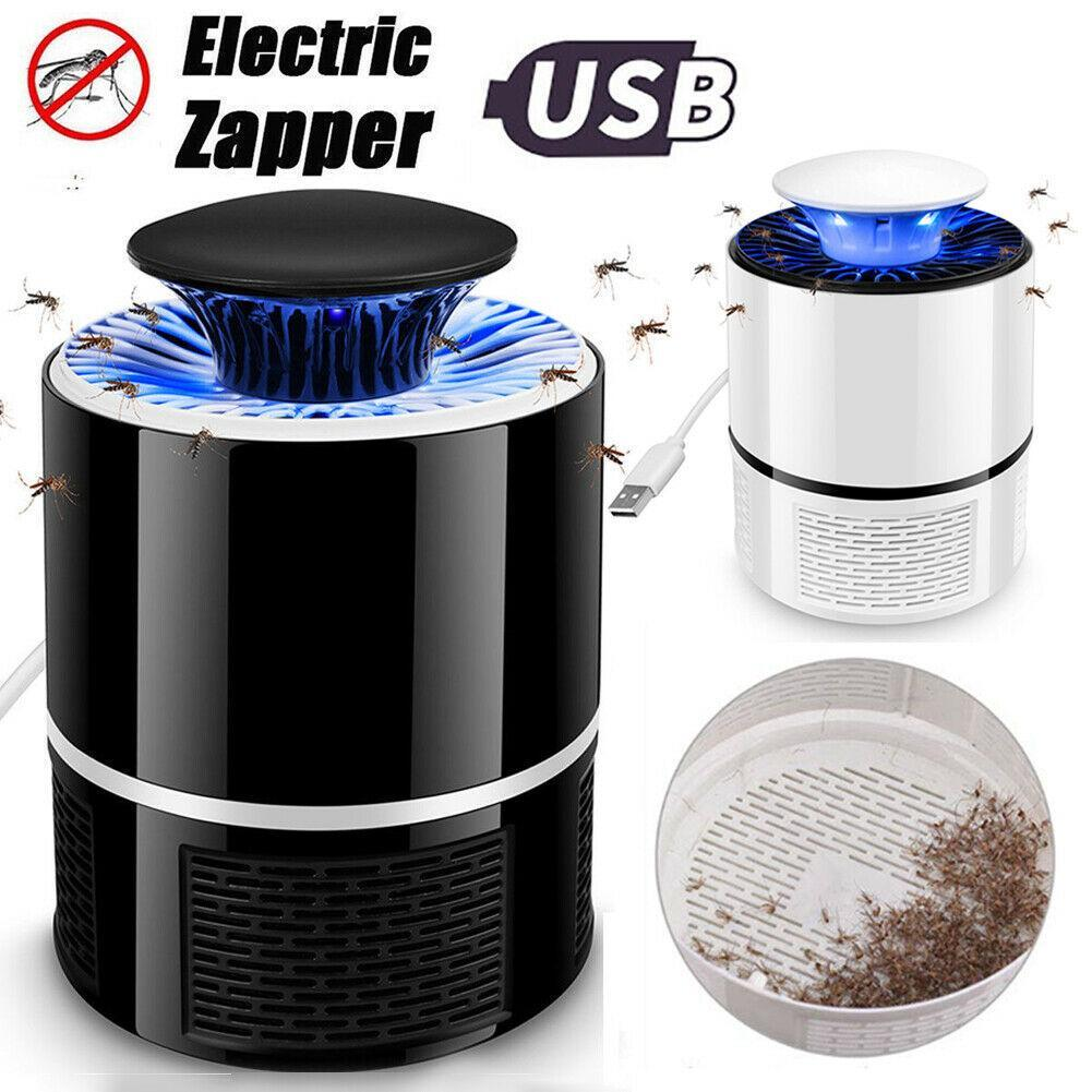 Electric Fly Bug Zapper Mosquito Insect Killer Controller LED Light Trap NIGH