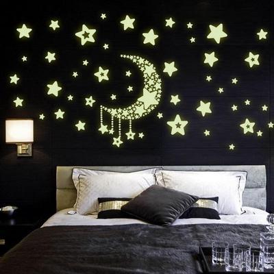 Zodiac Glow In The Dark Stars Stickers Kid/'s Bedroom Room Home Wall Decor JH