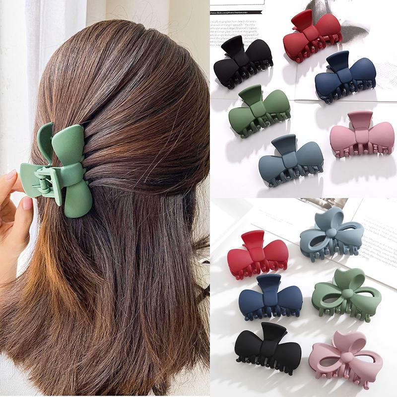 Women Hair Claw Barrette Crab Clamp Hairpin Simple Clip Hairband Hair Accessory