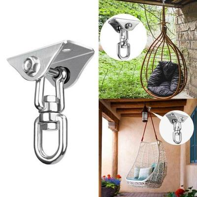 304 Stainless Steel Heavy Duty Swing Fixed Buckles Hook Hanger For Yoga Hammock Sandbag Swing Sets Buy At A Low Prices On Joom E Commerce Platform