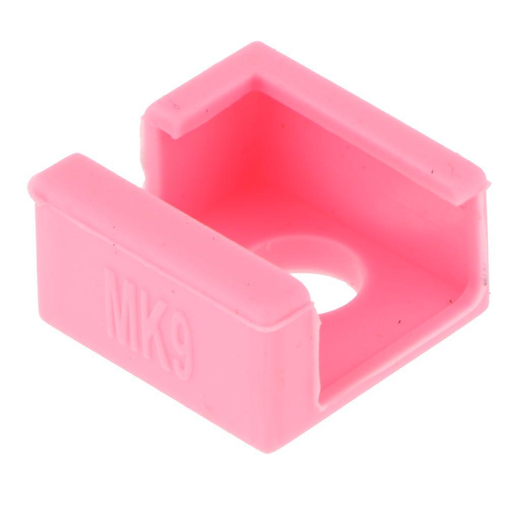 4PCS Estuche Silicona Caja Cubierta Manga Para V6 PT100 3D Impresora parte extremo caliente