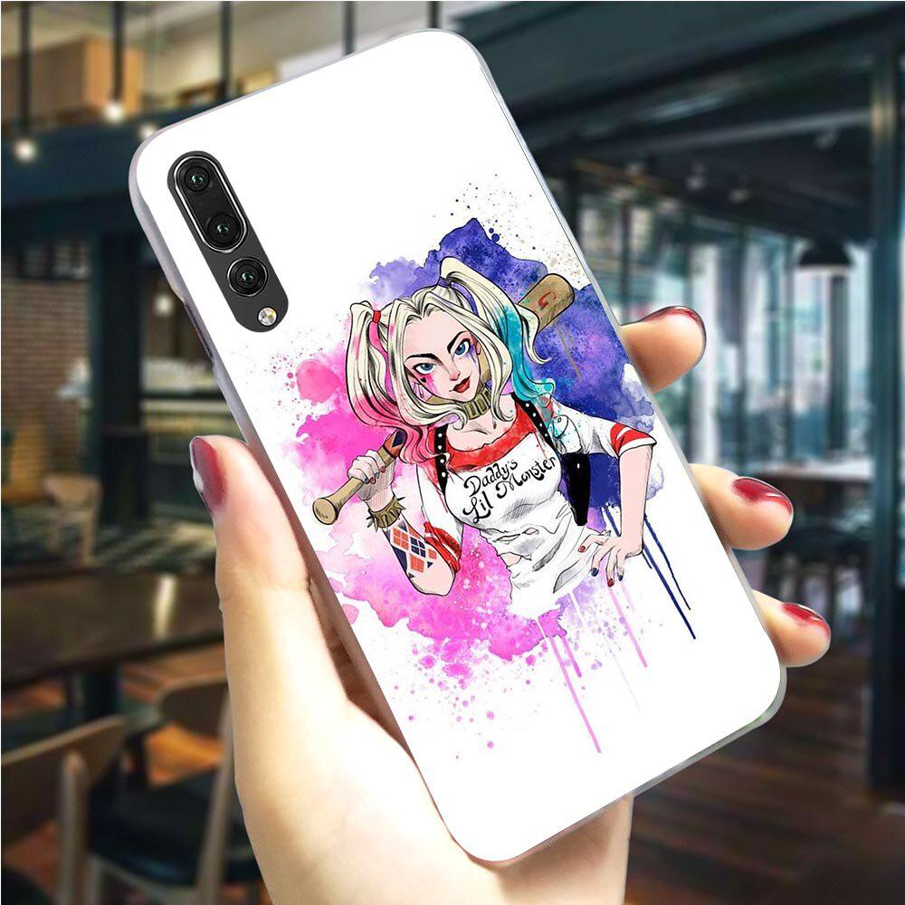 Harley Quinn Suicide Phone Cover For Huawei P30 Lite Case P9 Lite P Z Smart Mate 10 20 Lite Pro
