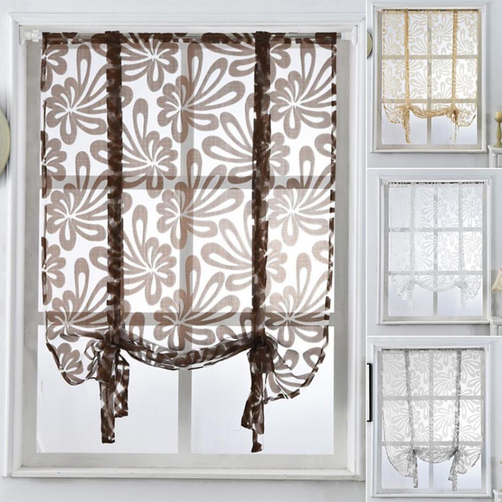 Nouveau Luxe String rideau Porte fenêtre rideaux Diviseur Pièce aveugle Tassel Fly