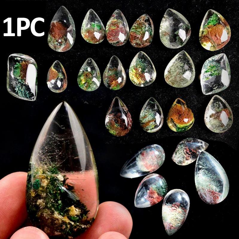 Hand Polished Rainbow Stripe Fluorite Crystal Carving Crescent Moon Reiki Healing Gemstone Stone