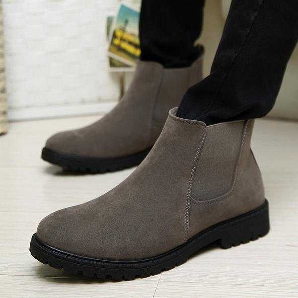 f69d5229df2 Autume And Winter Fashion Retro Warm Men Chelsea Boots Desert Ankle Boot  Men s-buy at a low prices on Joom e-commerce platform