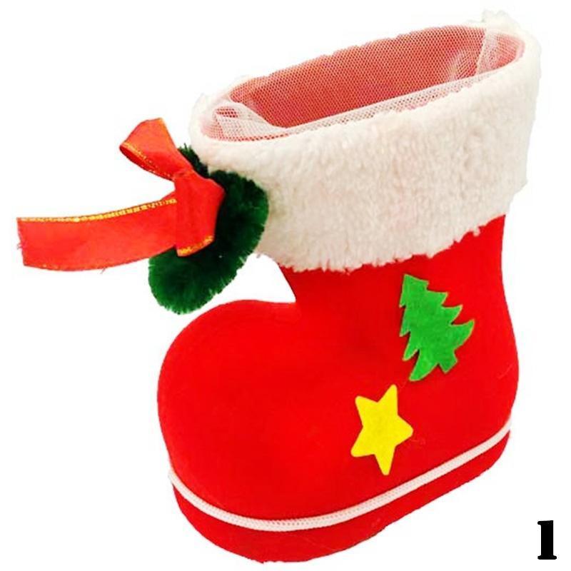 Navidad creativa Santa Claus reuniéndose el regalo de Navidad ... 4e3dd3bb3043d