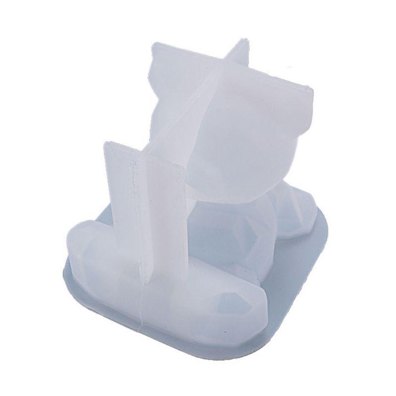 Silicon Resin Mold DIY mold 3d bear Epoxy Resin Craft Mold uv resin Mold