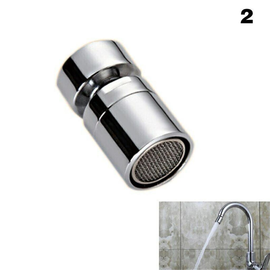 Brass Water Saving Tap Faucet Sprayer Aerator Attachment with 360-Degree Swivel