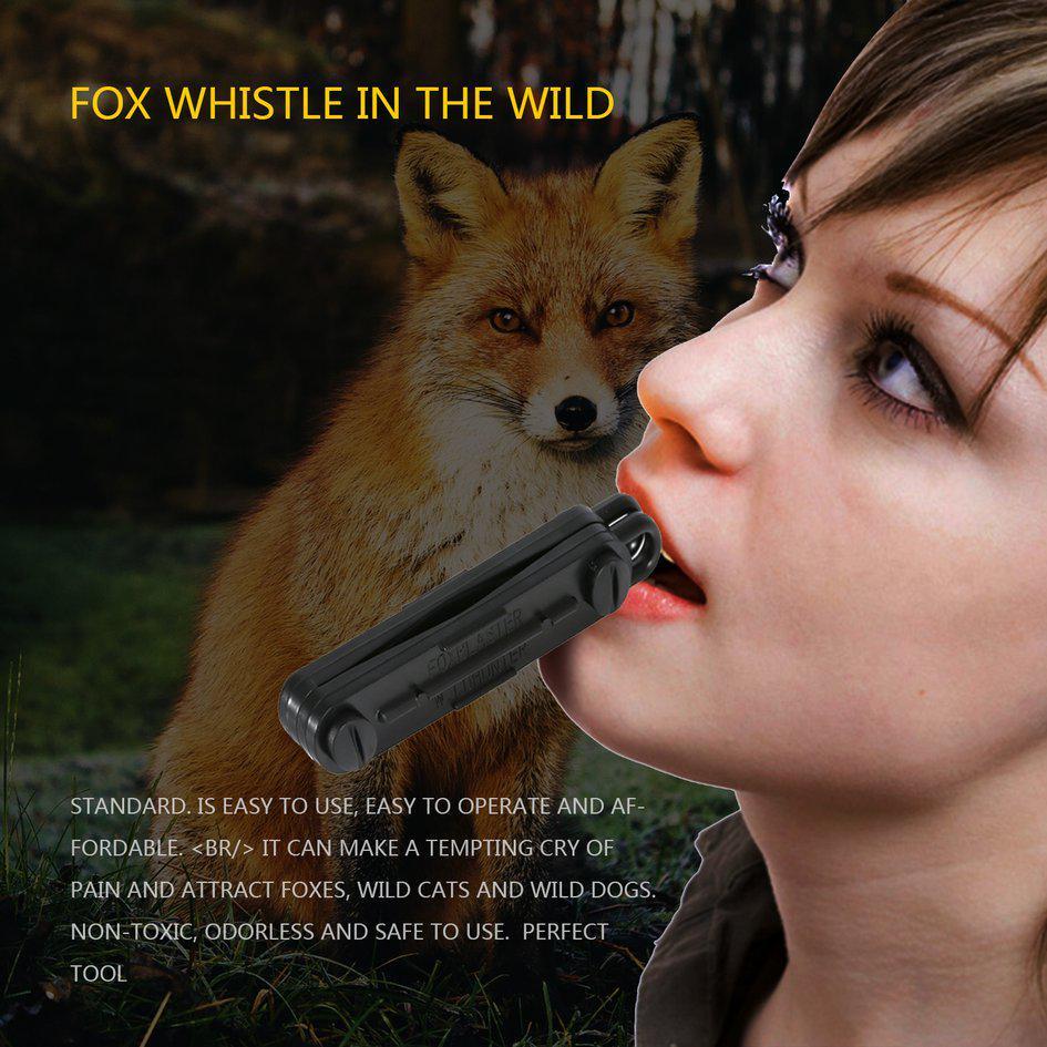 2x Fox Blaster Call Whistle Predator Hunting Lamping Rabbit Game Caller Animial