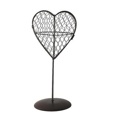 Iron Frame Wire Ball Shape Free Standing Pot Ball Shape Rack Romantic Art