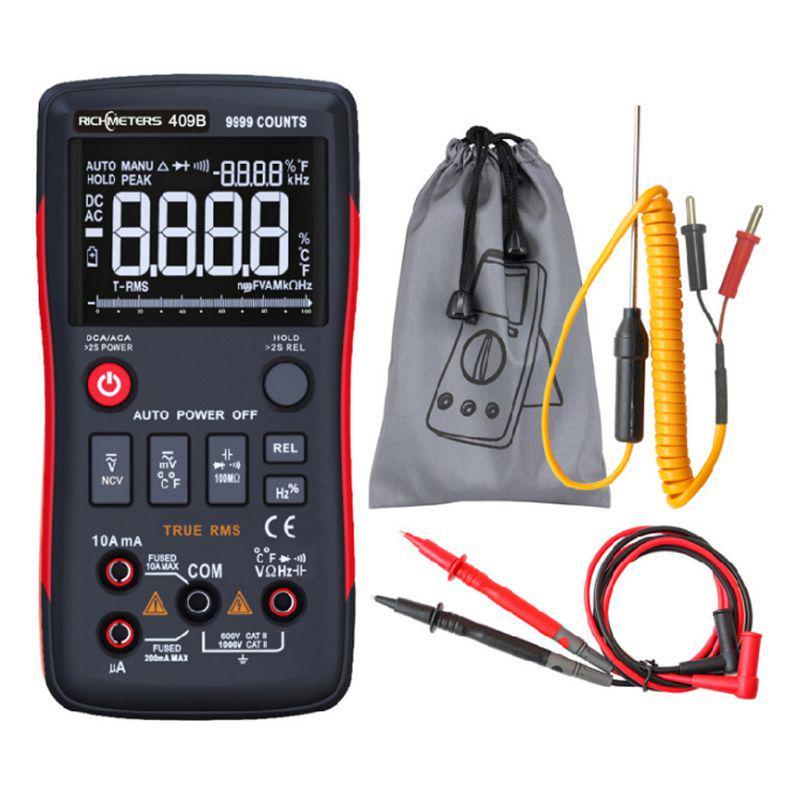 Цифровой многометровый отсчет точности Измерения с аналоговым бар График AC DC Напряжение Ammeter Ток – купить по низким ценам в интернет-магазине Joom