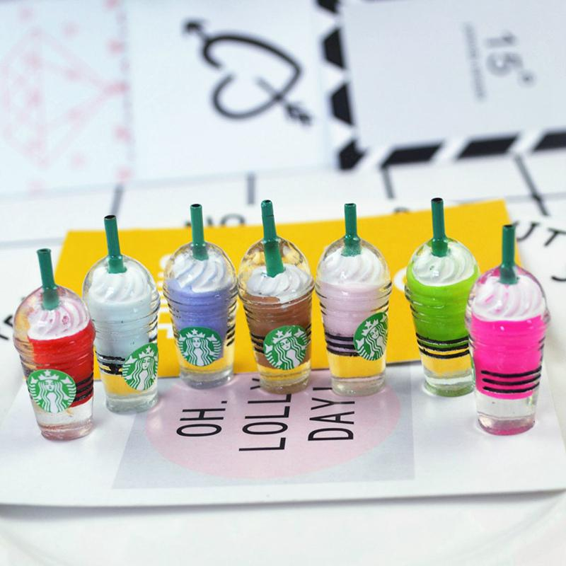 Shop Dollhouse Miniature Ice Cream  Food Figurine Drink Cup Dolls Accessories