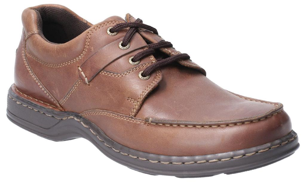 Cotswold Mens Thickwood Burnished Leather Casual Derby Shoes
