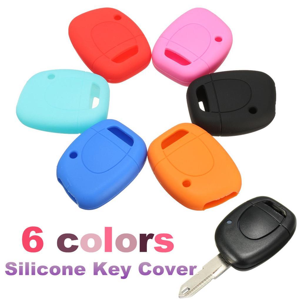 Schlüssel Cover Car Key Silikon Schutz Hülle für RENAULT CLIO TWINGO DACIA LOGAN