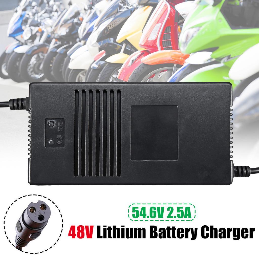 48V 54.6V Ladegerät LithiumAusgabe Batterie  Elektrisches Motorrad Roller E-Bike