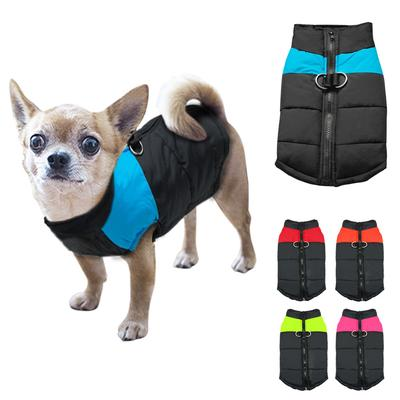 Trendy Waterproof Pet Dog Clothes Winter Warm Padded Coat Pet Jacket For Small Large Dogs Snow Gift