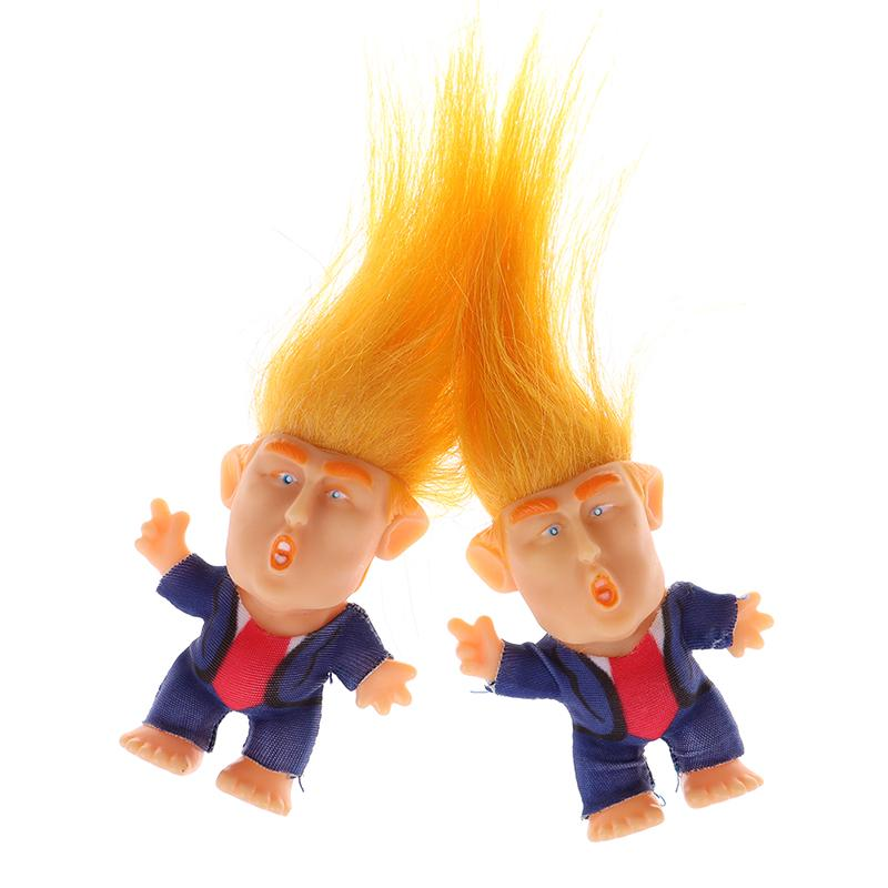 COLLECTIBLE PRESIDENT DONALD TRUMP TROLL DOLL FIGURE MAKE AMERICA GREAT AGAIN
