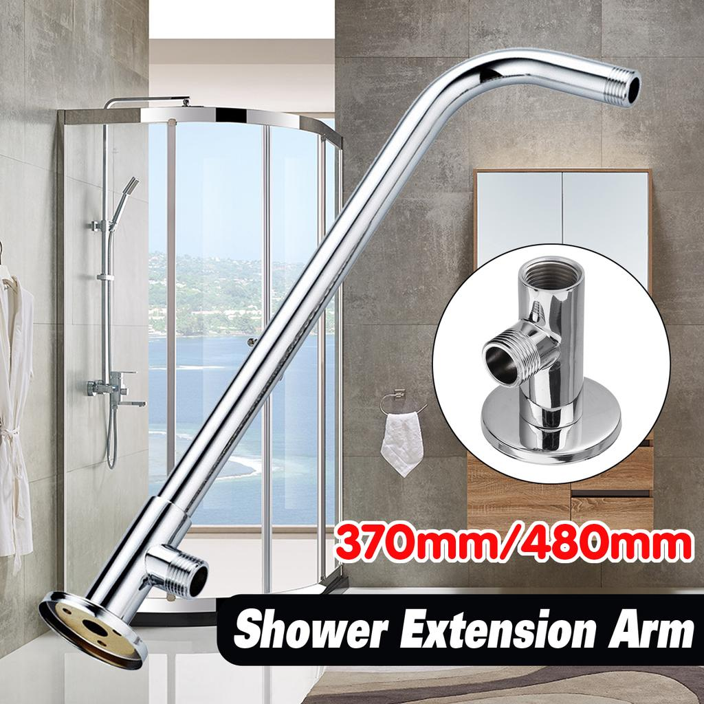 Silver Shower Arm Extension Bottom Entry Hose Wall Mounted For Bathroom Buy At A Low Prices On Joom E Commerce Platform