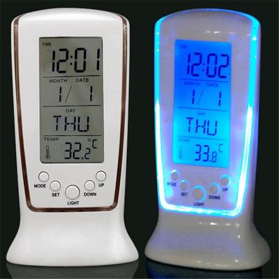 Home Decor Alarm Clock Electronic Watch Mini Alarm Clock Lazy Electronic Clock Smart Clock