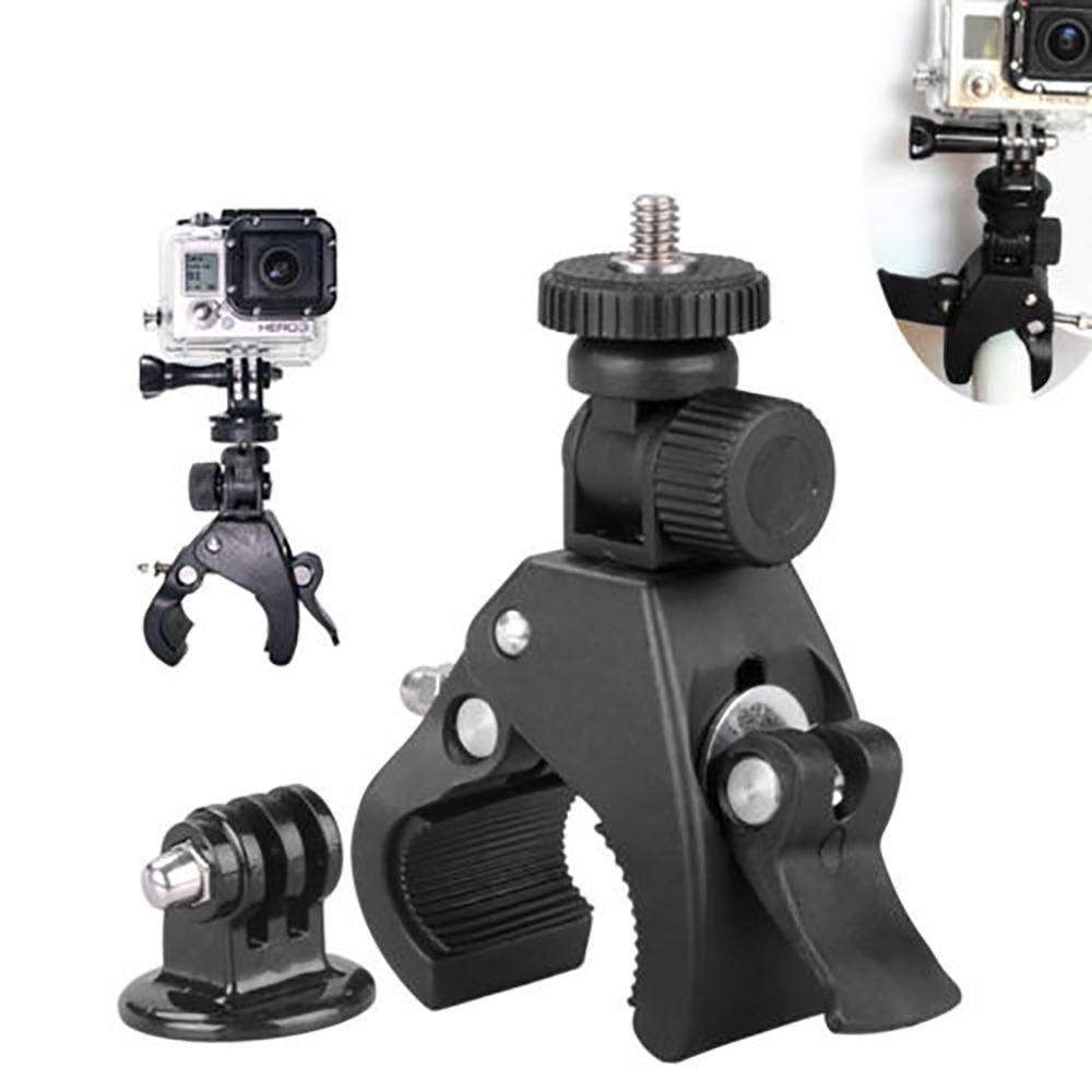 Bicycle Bike Motorcycle Bracket Camera Mount Stand Holder For Gopro Hero4 3 3 2