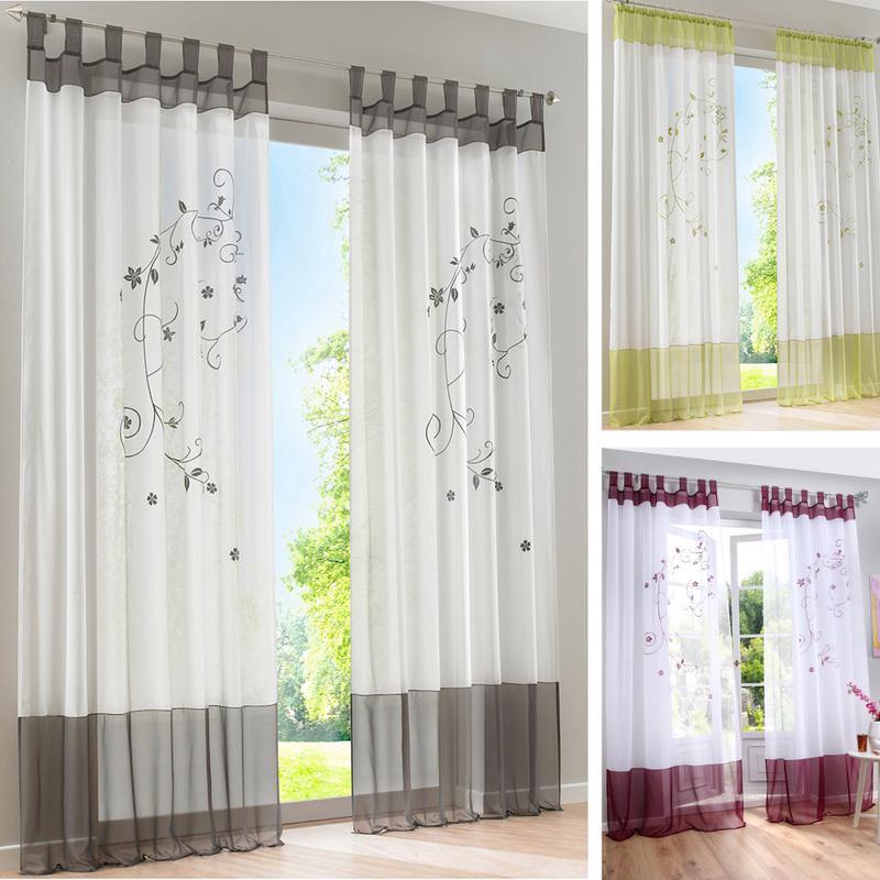 Занавески полу Voile затемняющие шторы для гостиной спальни – купить по низким ценам в интернет-магазине Joom