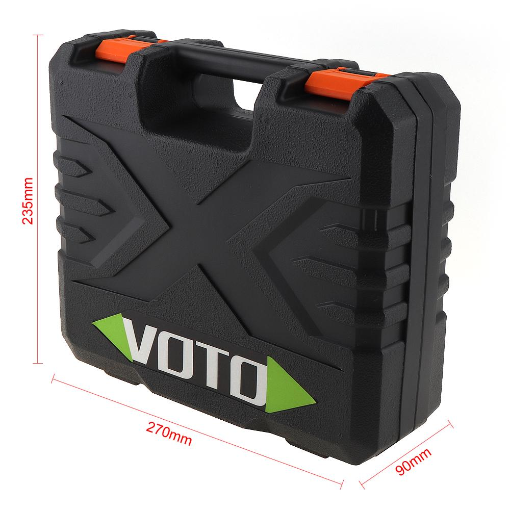 Power Tool Suitcase Electric Screwdriver Drill Dedicated Load Tool Box