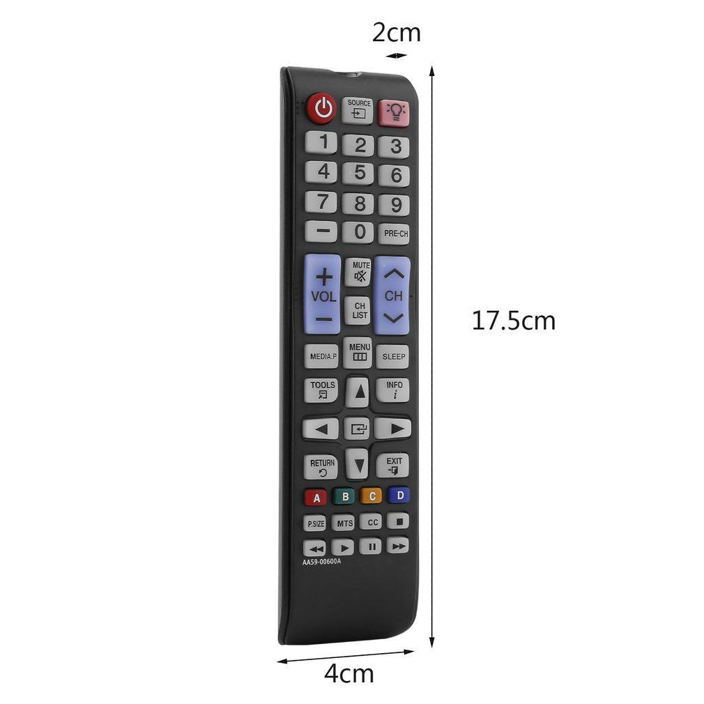Mando a distancia inteligente compatible con Samsung TV color negro Swiftswan AA59-00600A