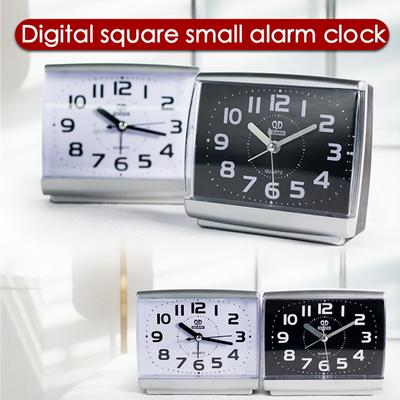 Fashion Alarm Clock Silent Battery Operated For Bedside Nightstand