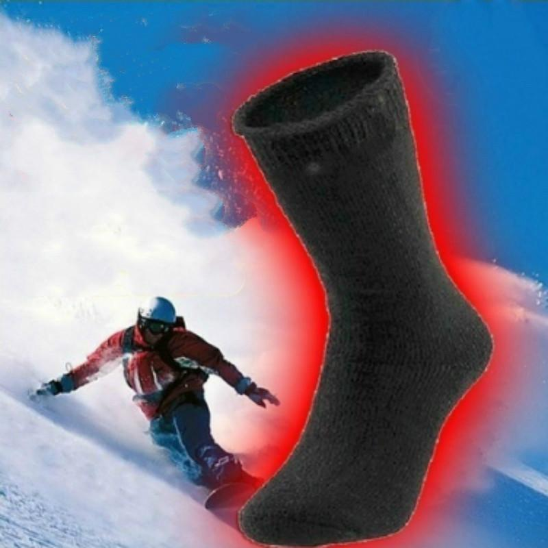 Шерстяные носки зимние носки толщиной Термо Носки мужские спортивные носки флис Носки фото