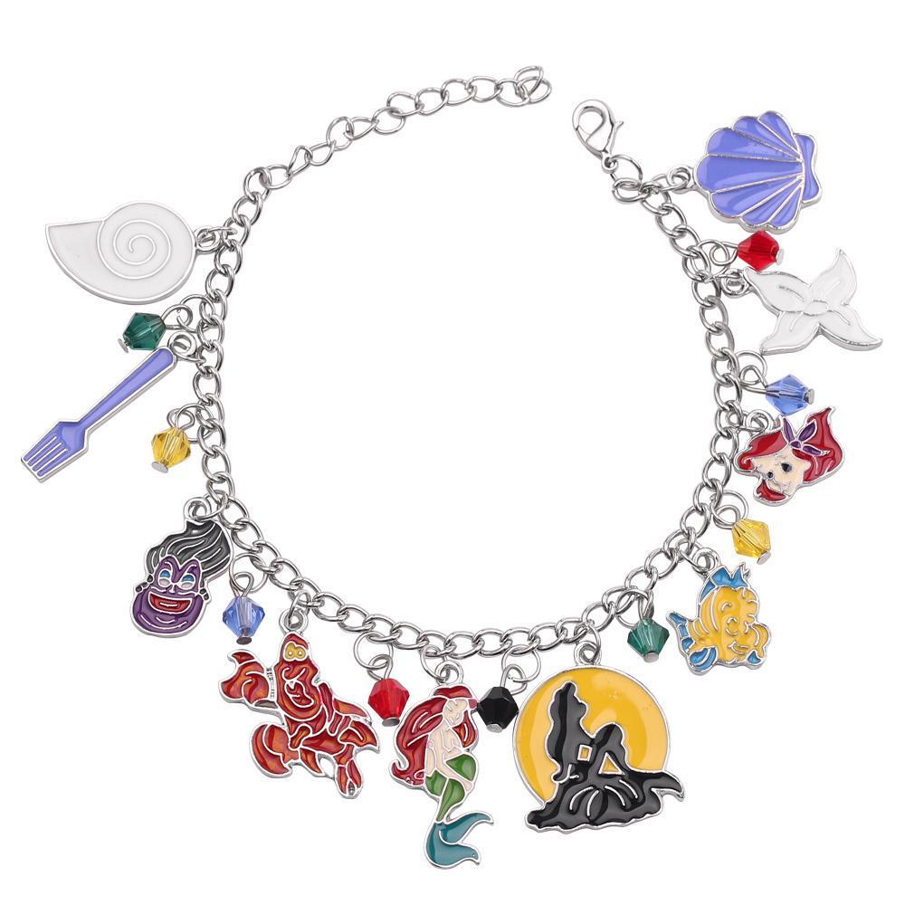 LK style bracelet avec lion couronne et Hakuna Matata charme