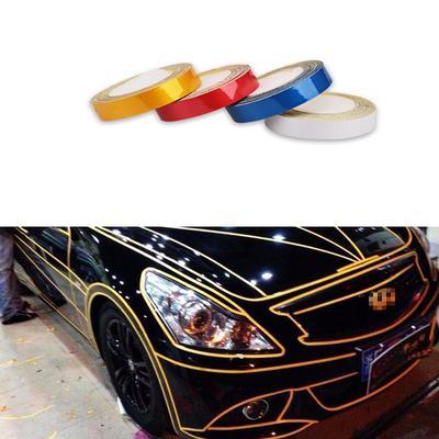 Retrofitting Reflective Strips Car Body Self-Adhesive Glow Strip Tape Decals