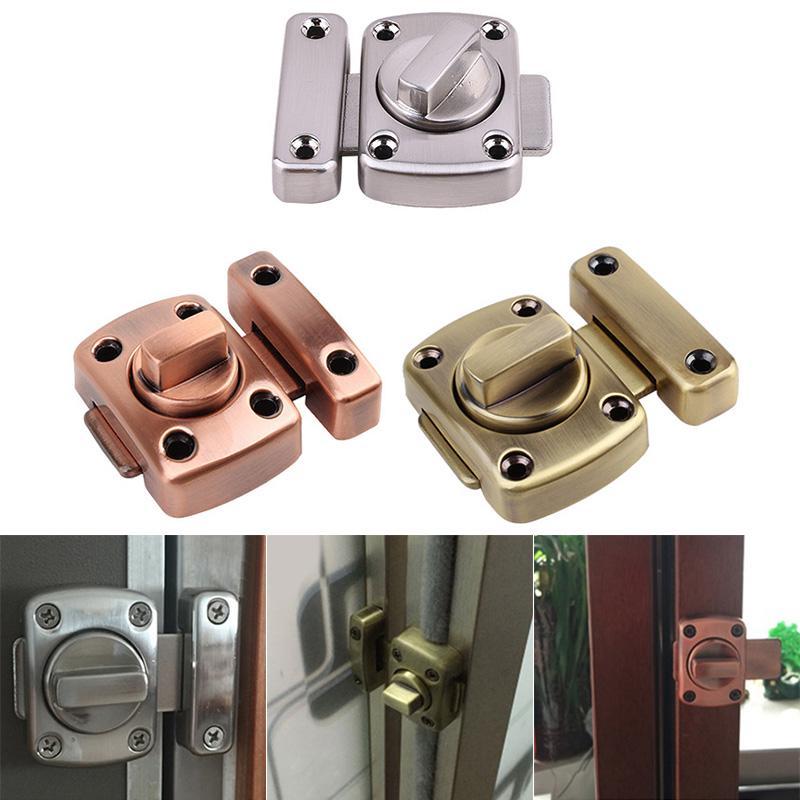 Zinc Alloy Drawer Lock Safety Lock Sliding Doors Home Living 1Pc Door Lock HD