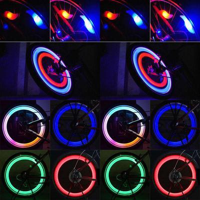 LED Cycling Bike Wheel Spoke Light Flashing Wind Fire Wheel Bicycle Light