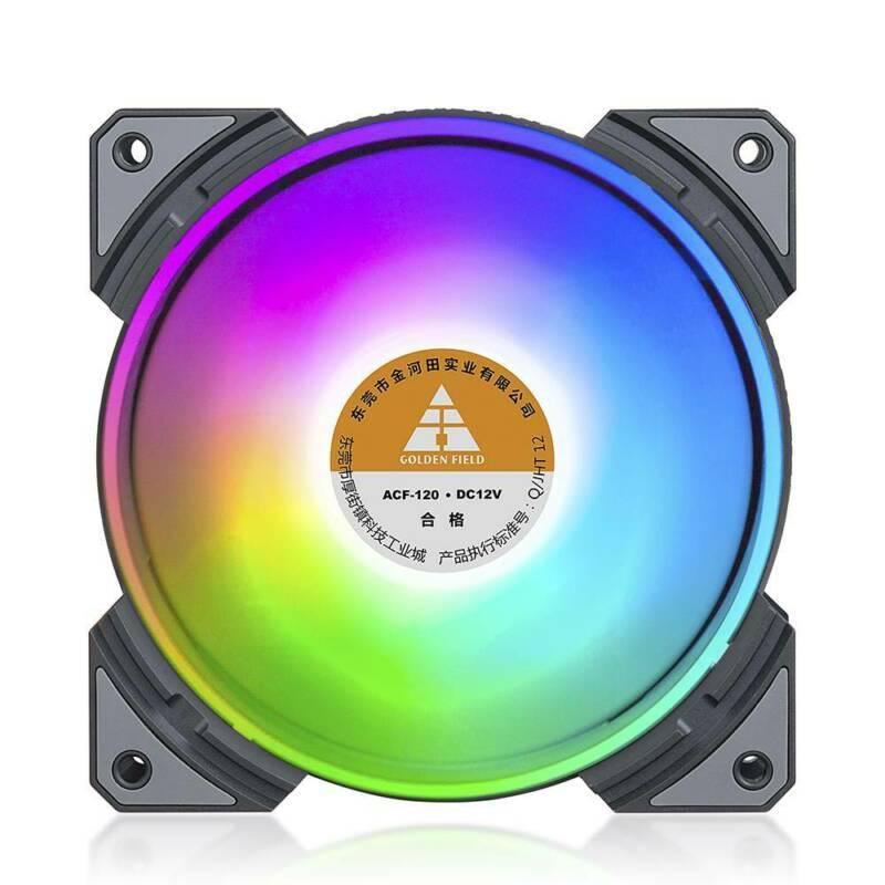 120mm Компьютерный корпус Вентиляторы Silent 7 Клинки Охлаждение Адаптер RGB процессор Cooler Heatsink – купить по низким ценам в интернет-магазине Joom