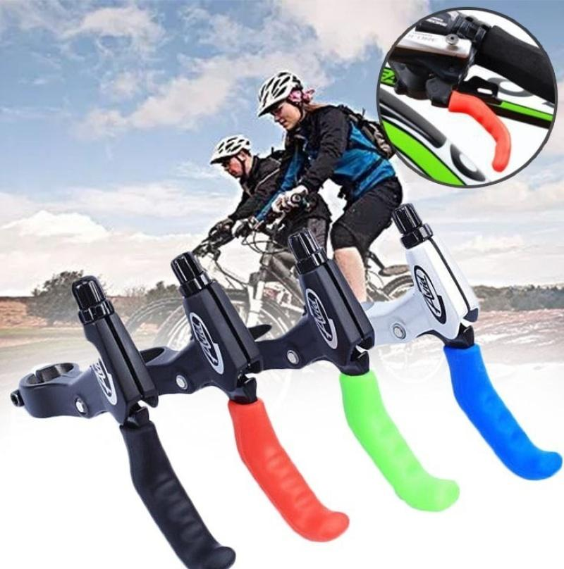 1 Pair Bike Cycling Silicone Brake Lever Cover Sleeve Grips Protector ss