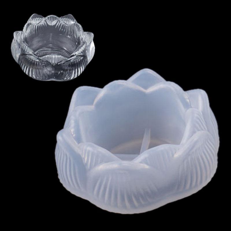 Blatt Kerzenhalter Aschenbecherform Silikonform Gießform Schmuck Kristall Mould