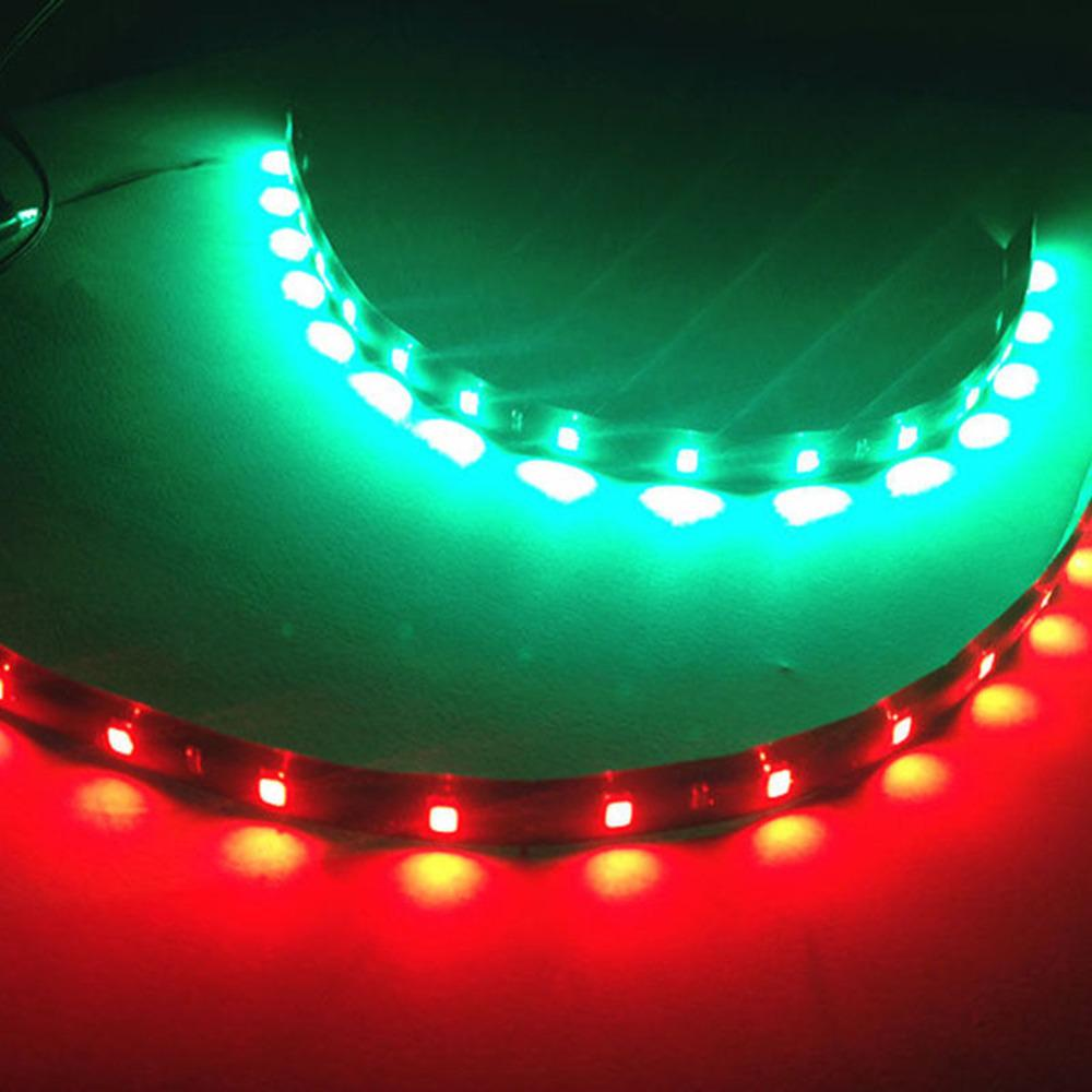 2x Boat Navigation LED Lighting RED /& GREEN Waterproof Marine LED Strips