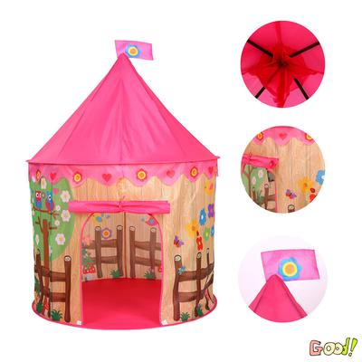Girls Pink Angels Themed Play Tent for Kids Children Indoor /& Outdoor Play