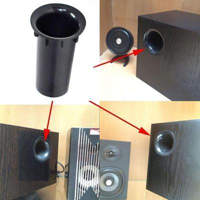 10x10mm Speaker Port Tube Subwoofer Bass Reflex Tube Speaker Box