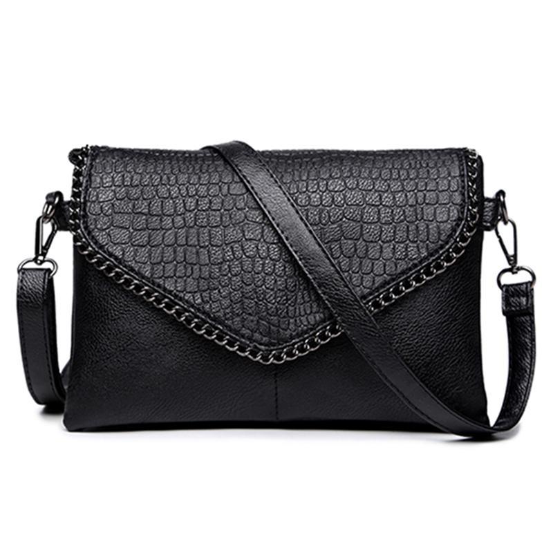 Yogodlns женщин мягкой кожаной сумки посыльного плечо мешок сцепления Evelope – купить по низким ценам в интернет-магазине Joom